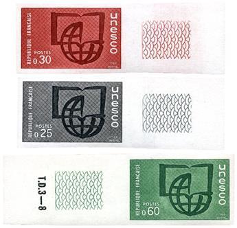 n.o 59 -  Sello Francia Precancelados