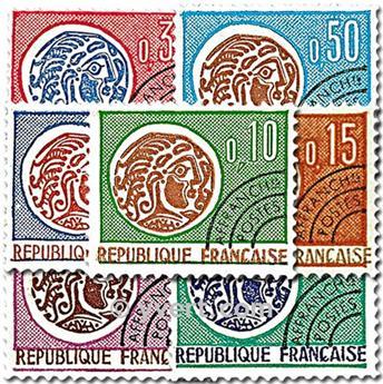 n° 123/129 - Timbre France Préoblitérés