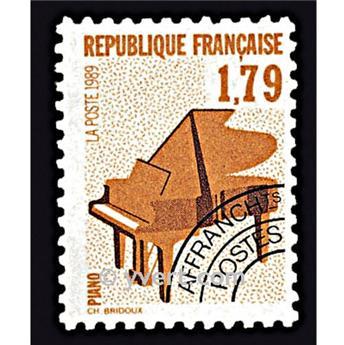 n° 203 -  Selo França Pré-obliterados