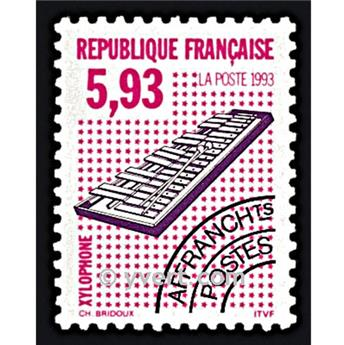 n° 231 -  Selo França Pré-obliterados