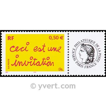 nr. 3636A -  Stamp France Personalized Stamp