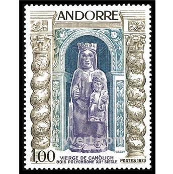 n° 228 -  Selo Andorra Correios