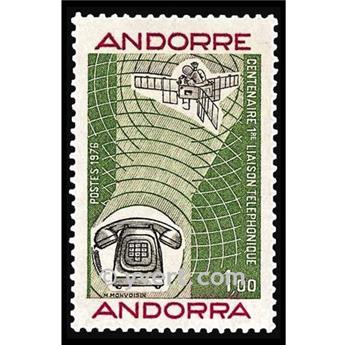 n° 252 -  Selo Andorra Correios