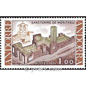 n° 257 -  Selo Andorra Correios