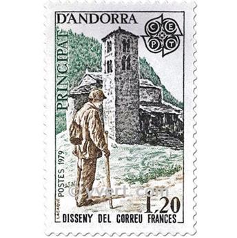 n° 276/277 -  Selo Andorra Correios