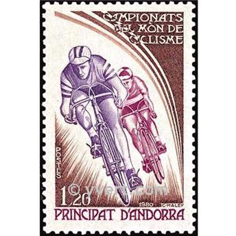 nr. 288 -  Stamp Andorra Mail