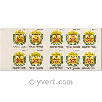 n° 8 -  Selo Andorra Carnets