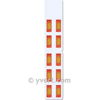 n° 13 -  Selo Andorra Carnets