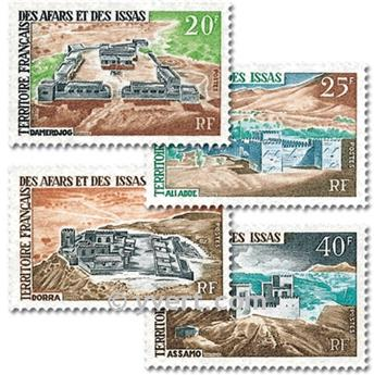 nr. 337/340 -  Stamp Afars and Issas Mail
