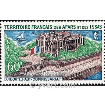 n° 348 -  Timbre Afars et Issas Poste