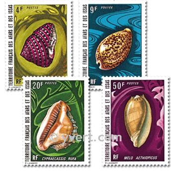 nr. 377/380 -  Stamp Afars and Issas Mail