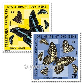 nr. 406/407 -  Stamp Afars and Issas Mail