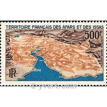nr. 59 -  Stamp Afars and Issas Air mail