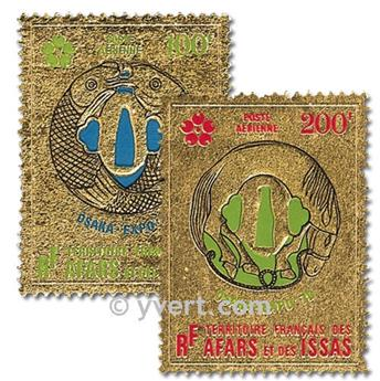 nr. 64/65 -  Stamp Afars and Issas Air mail