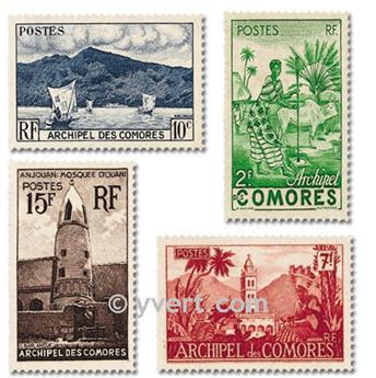 n° 1/11 -  Selo Comores Correios