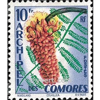 n.o 16 -  Sello Comoras Correos