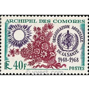 n° 46 -  Timbre Comores Poste