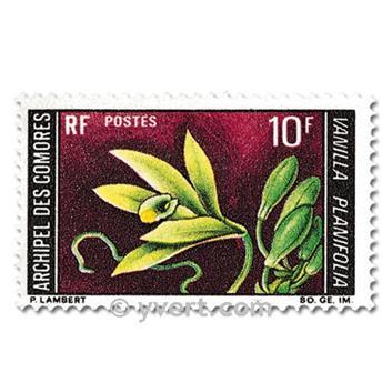 n° 53/54 -  Selo Comores Correios