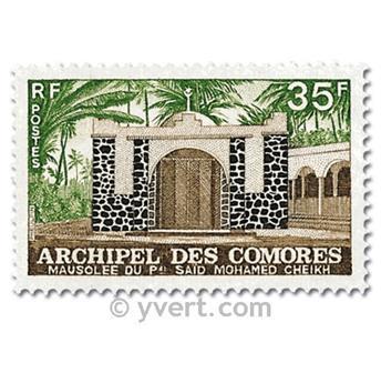 n° 89/90 -  Selo Comores Correios