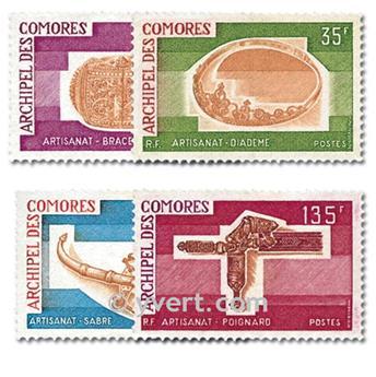 n° 97/100 -  Timbre Comores Poste