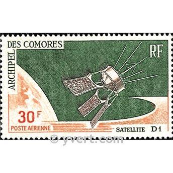 n.o 17 -  Sello Comoras Correo aéreo