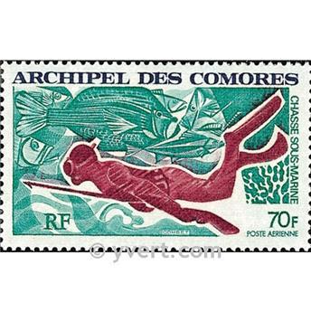 n.o 44 -  Sello Comoras Correo aéreo