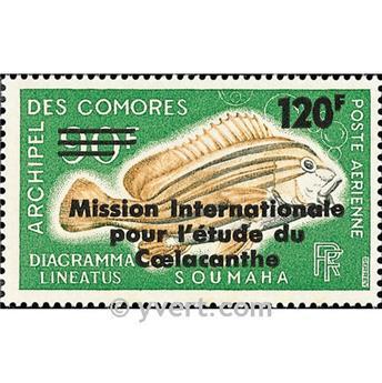 n.o 52 -  Sello Comoras Correo aéreo