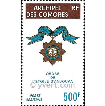 n° 58 -  Timbre Comores Poste aérienne
