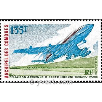 n° 65 -  Timbre Comores Poste aérienne