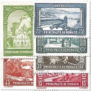 n° 119/134 -  Selo Mónaco Correios