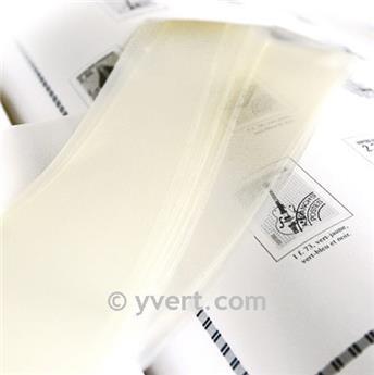 Tiras soldura simples -  82 mm (Fundo transparente)