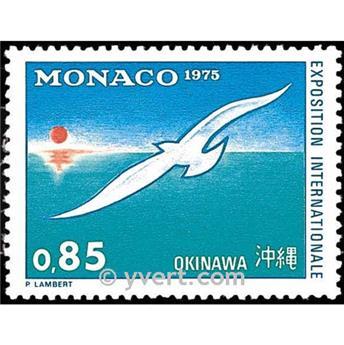 n.o 1013 -  Sello Mónaco Correos