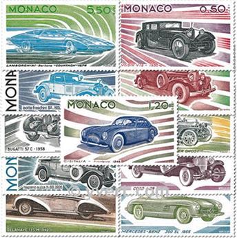 nr. 1018/1028 -  Stamp Monaco Mail