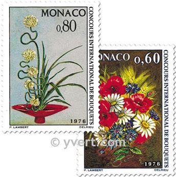 n.o 1035/1036 -  Sello Mónaco Correos