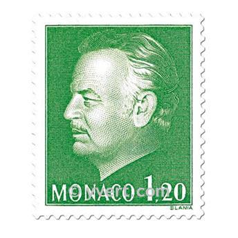 n.o 1233/1234 -  Sello Mónaco Correos