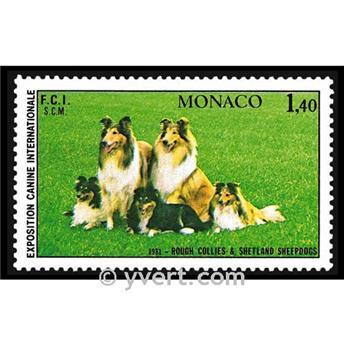 n° 1280 -  Timbre Monaco Poste