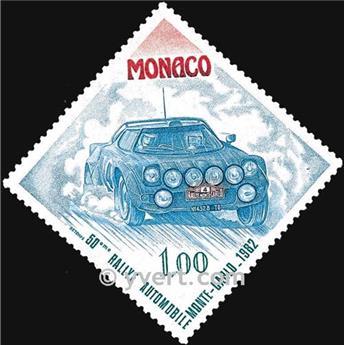 n° 1300 -  Selo Mónaco Correios