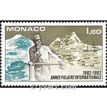 n° 1355 -  Timbre Monaco Poste