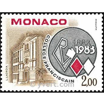 n° 1369 -  Timbre Monaco Poste
