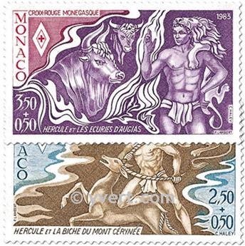 n° 1387/1388 -  Timbre Monaco Poste