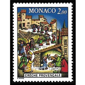 n° 1400 -  Timbre Monaco Poste