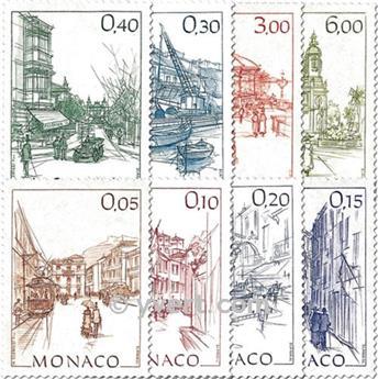 n° 1404/1411 -  Timbre Monaco Poste