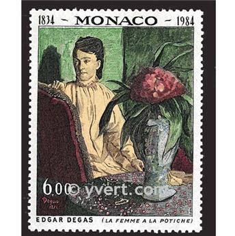 n° 1455 -  Timbre Monaco Poste