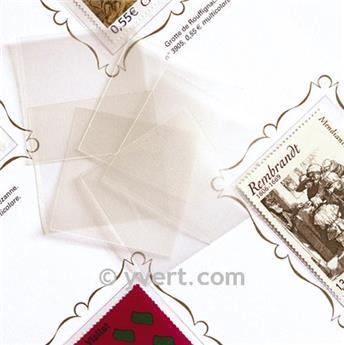 Protetores soldura simples -  LxA: 36 x 30 mm (Fundo transparente)