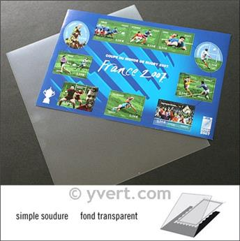 Pochettes simple soudure - Lxh:210x170mm (Fond transparent)