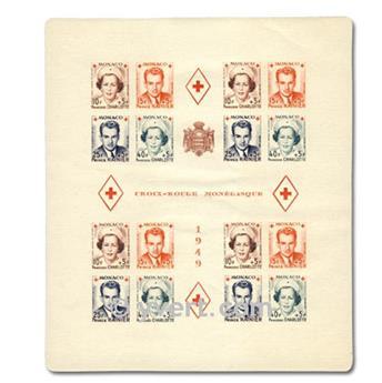 nr. 3B -  Stamp Monaco Souvenir sheets