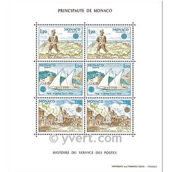 n° 17 -  Selo Mónaco Blocos e folhinhas