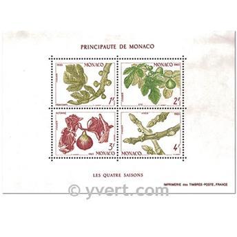 n.o 26 -  Sello Mónaco Bloque y hojitas