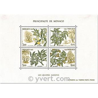 n° 43 -  Timbre Monaco Bloc et feuillets