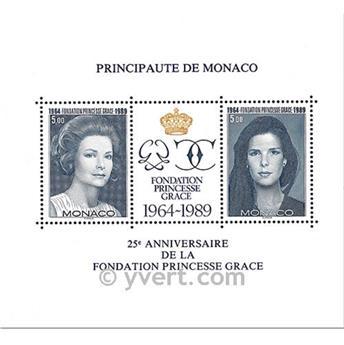 n.o 48 -  Sello Mónaco Bloque y hojitas